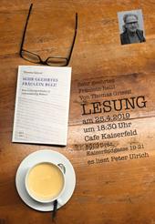 Bild zu Lesung mit Thomas Griessl