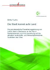 Buchumschlag Britta Fuchs, Die Stadt