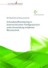 Cover Willibald Kerschbaumsteiner, Schwebstoffmonitoring