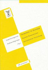 Cover Hochgerner Forschen Verlag Guthmann-Peterson