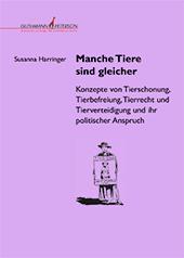 Cover Susanna Harringer, Alle Tiere sind gleicher