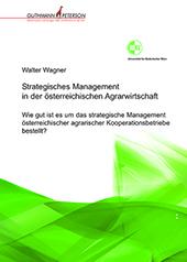 Buchumschlag Walter Wagner, Strategisches Managenment