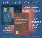 Einladung Lesung Wolfgang Bartsch und Katrin Navessi