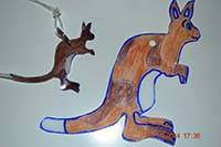 Selbstgemachter Schlüsselanhänger zum Kinderbuch Willibald von Marianne Hovorka