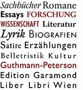 Der Verlag Guthmann-Peterson mit seinen drei verschiedenen Editionen.