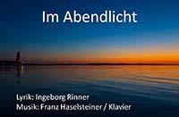 Lyrikabend mit Ingeborg Rinner am 23.März 2015 in Wien mit musikalischer Begleitung