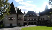 Forstliche Ausbildungsstätte Pichl, St. Barbara (früher Mitterdorf) im Mürztal